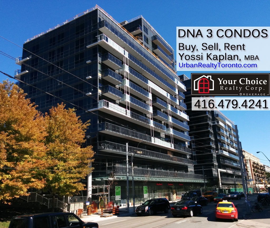DNA 3 CONDOS FOR RENT 1030 KING ST WEST