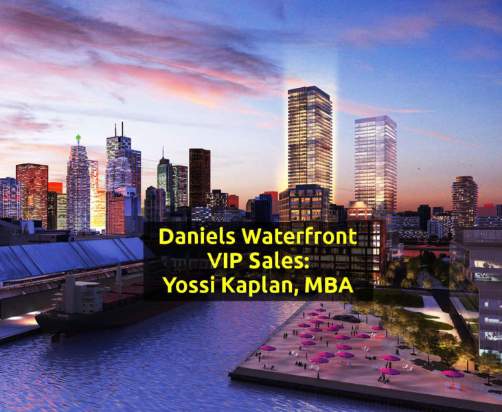 Daniels Lighthouse Waterfront - VIP Sales contact Yossi Kaplan
