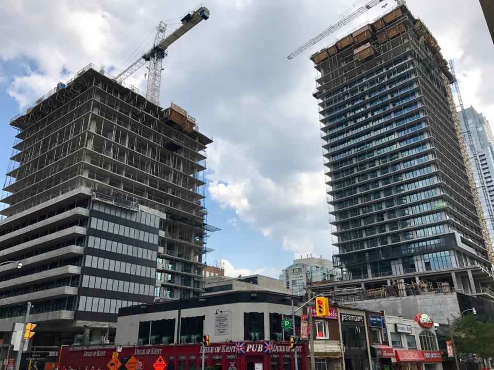 E Condos Under Construction