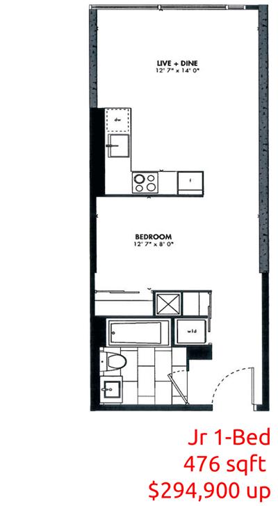 EAST FIFTY FIVE CONDOS - PLATIMUN VIP LAUNCH - 476-sq-ft