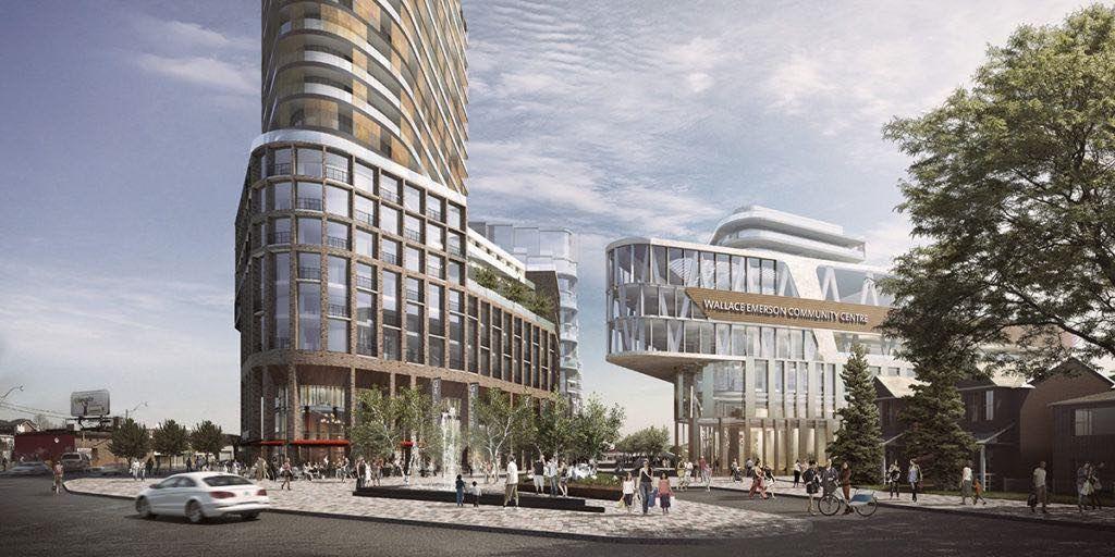 Galleria Mall Condos - Corner street - by Yossi Kaplan