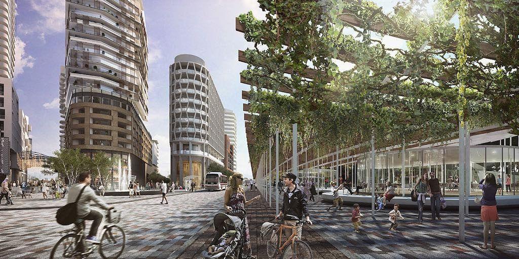 Galleria Mall Condos on the Park - street level - Call Yossi Kaplan