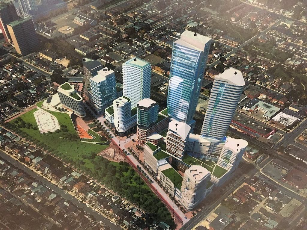 Galleria Mall On The Park Condos - Aerial View - VIP Sales Yossi Kaplan
