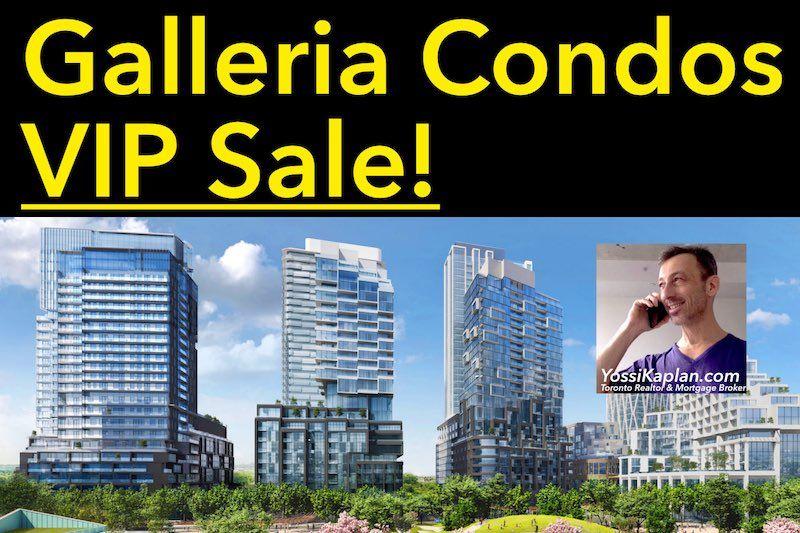 Galleria On The Park Condos VIP Sale