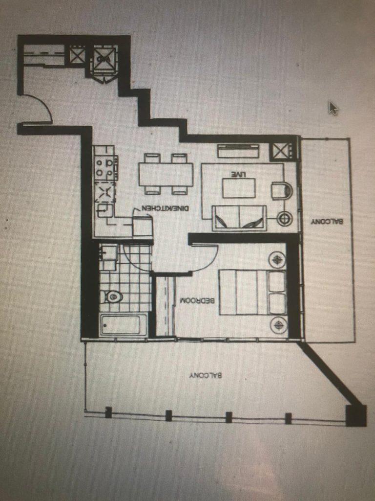Garrison Point Condos - Floorplan - Yossi Kaplan (416) 993-7653