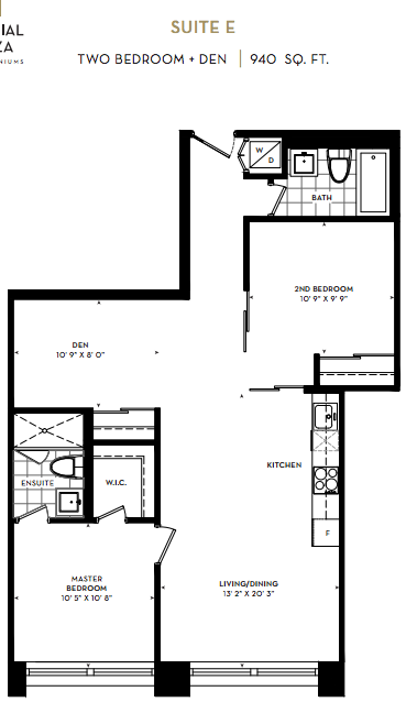 IMPERIAL PLAZA CONDOS FOR SALE - TWO PLUS DEN 940 SQ FT