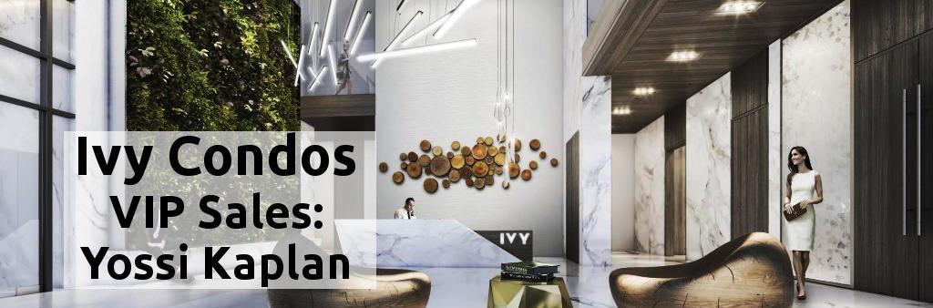 Ivy Condos @ 69 Mutual St - Yossi Kaplan, VIP Sales - Ivy Condos Lobby
