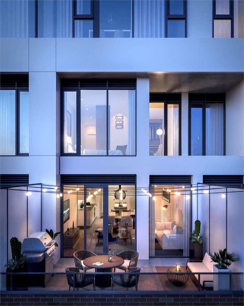 Junction House Condos @ 2720 Dundas Street West - Balcony