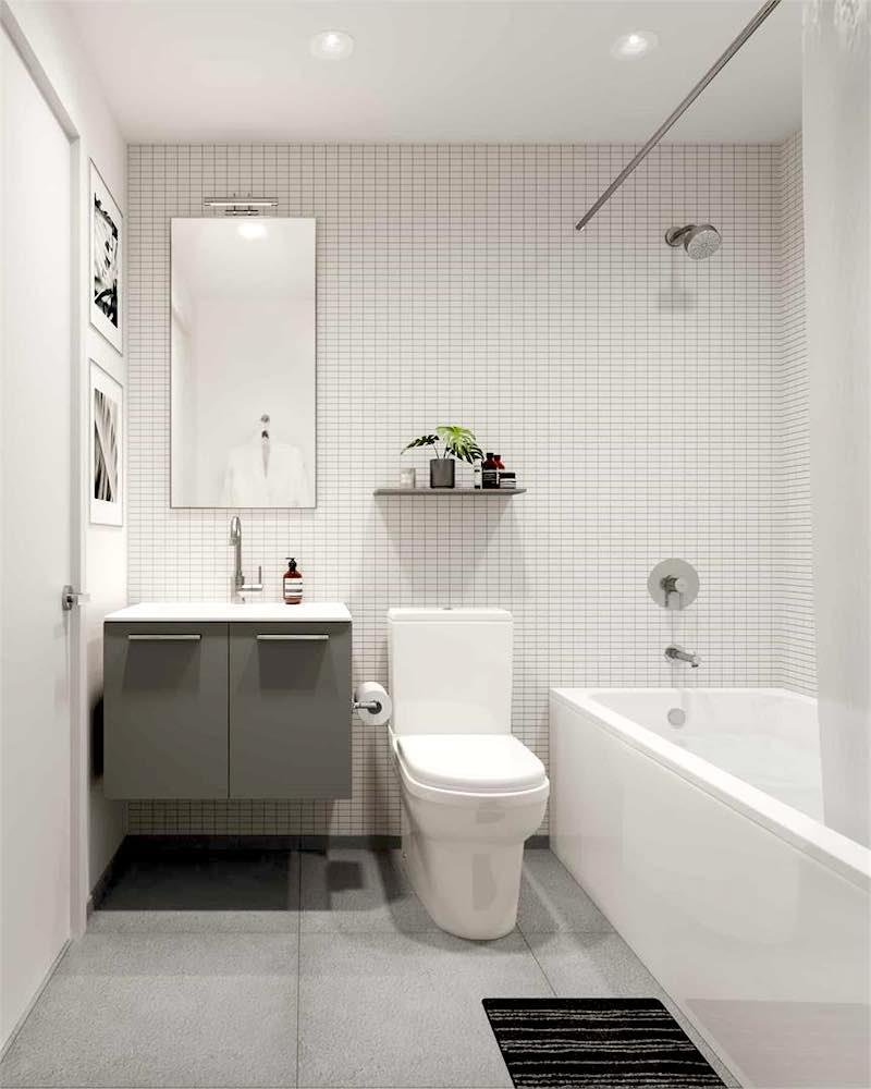 Junction House Condos @ 2720 Dundas Street West (Bathroom)