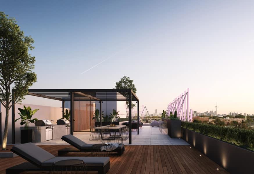 Junction House Condos Rooftop Patio (2720 Dundas W) - Call Yossi Kaplan