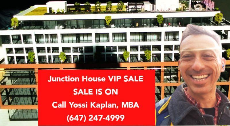 Junction House - VIP SALE Call Yossi Kaplan