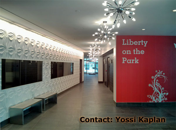 LIBERTY ON THE PARK - ELEVATOR LOBBY - CONDO FOR RENT