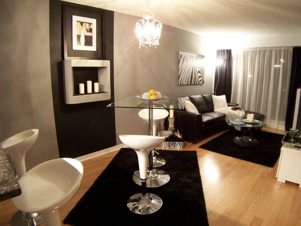 Loggia Condos 1-Bed Livingroom