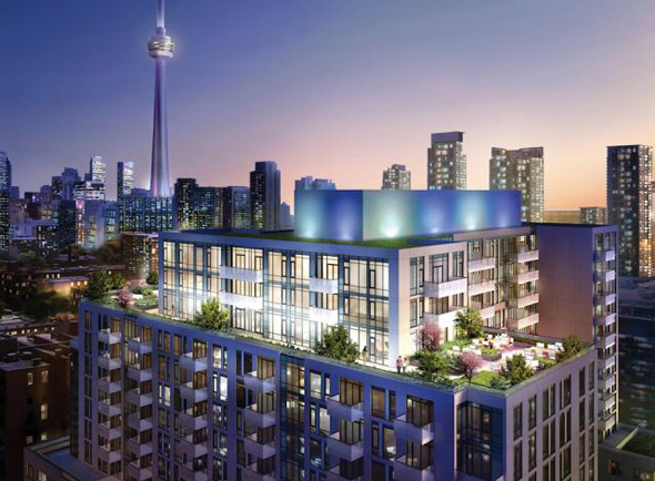 MUSEE PLAZA CONDOS - 525 ADELAIDE ST WEST - 4