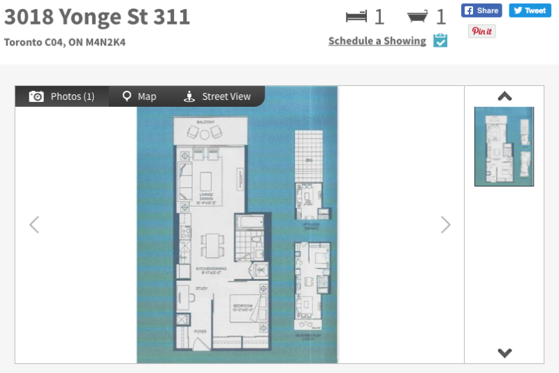 One Bedroom + Den for Sale at 3018 Yonge St - Contact Yossi Kaplan