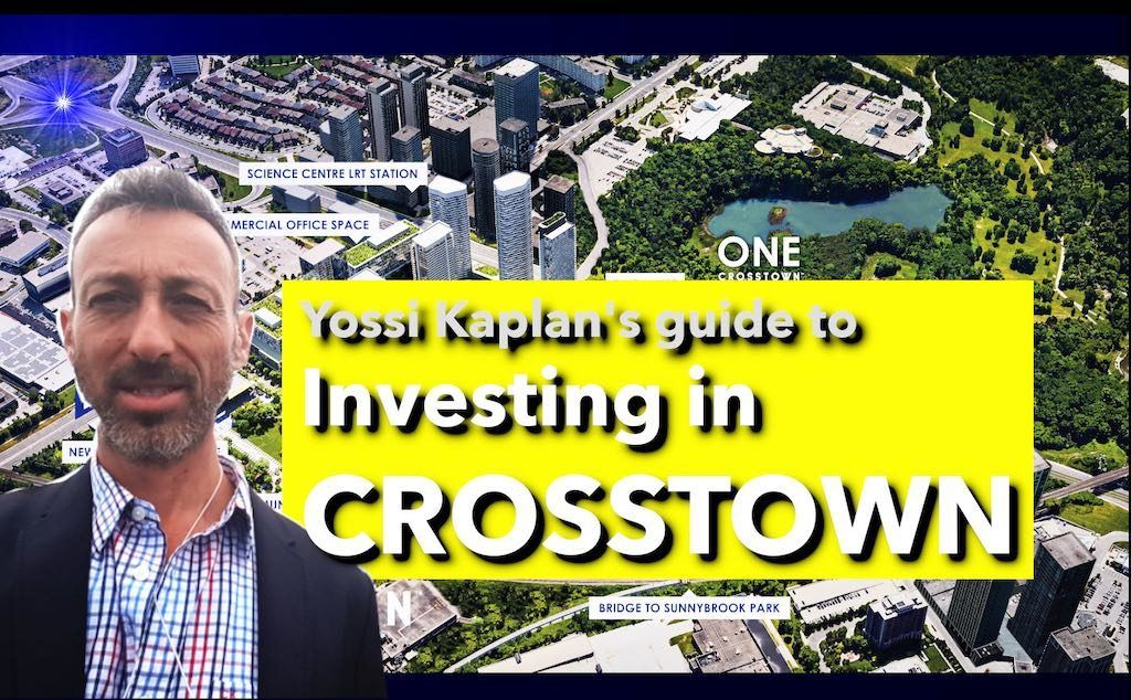 One Crosstown Condos - VIP Sale & Investment Info by Yossi Kaplan, MBA