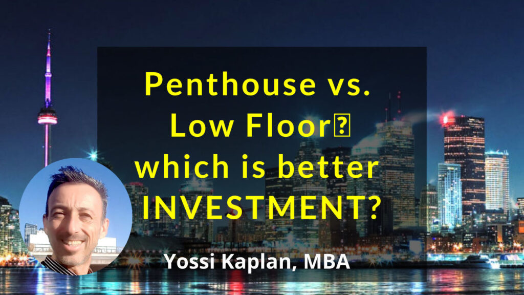 Penthouse vs. Low Floor which is better INVESTMENT