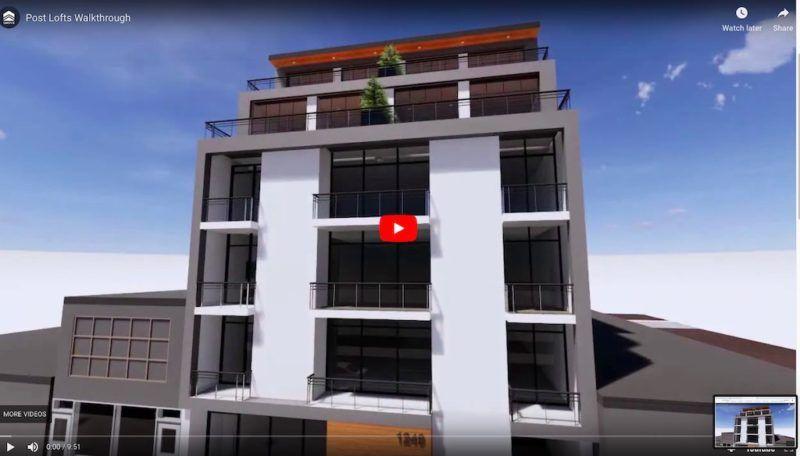 Post Lofts Leslieville - Video
