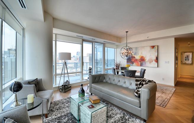 Shangri-La Toronto Typical Living Room
