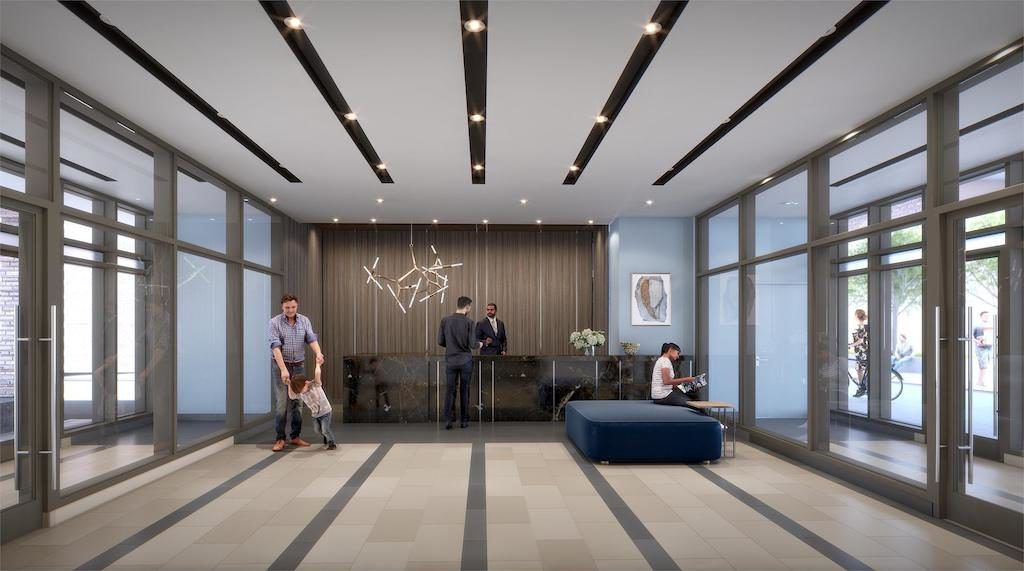 Scout Condos - 1791 St Clair Ave W - Lobby - Sales Yossi Kaplan MBA