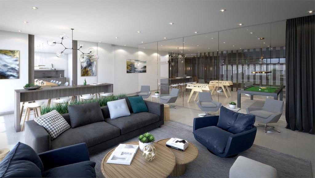 Scout Condos - 1791 St Clair Ave W - Lounge - Sales Yossi Kaplan MBA