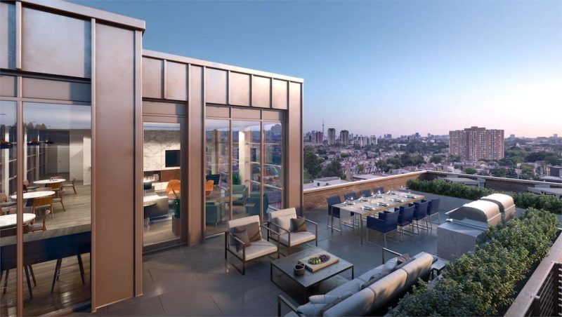 Scout Condos - 1791 St Clair Ave W - Rooftop - Sales Yossi Kaplan MBA