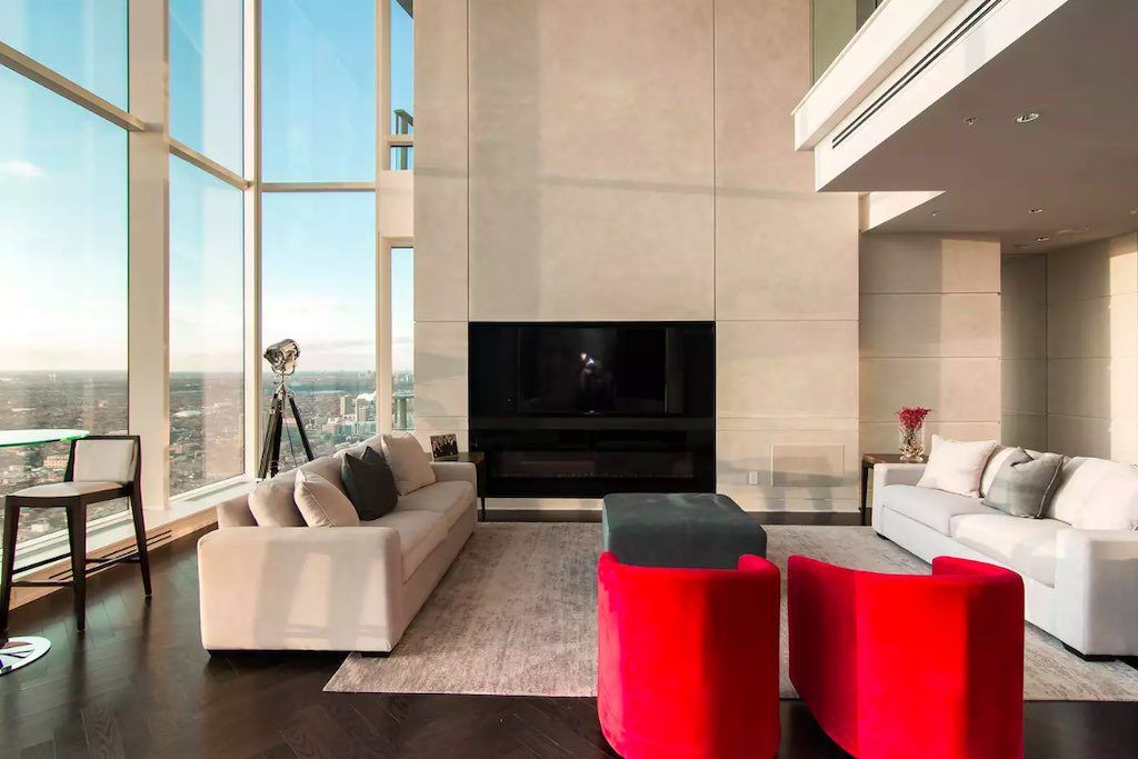 Shangri-La Toronto - Living Room 3 - Condos for Sale - Call Yossi Kaplan