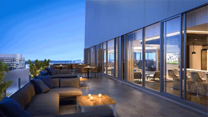 Social Condos Amenities Terrace