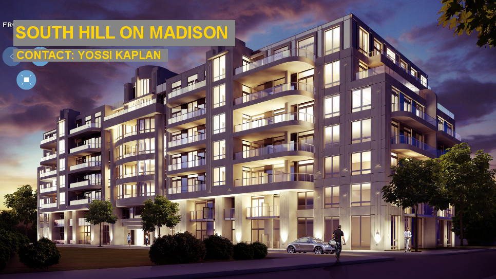 South Hill on Madison - BUILDING - CONTACT YOSSI KAPLAN