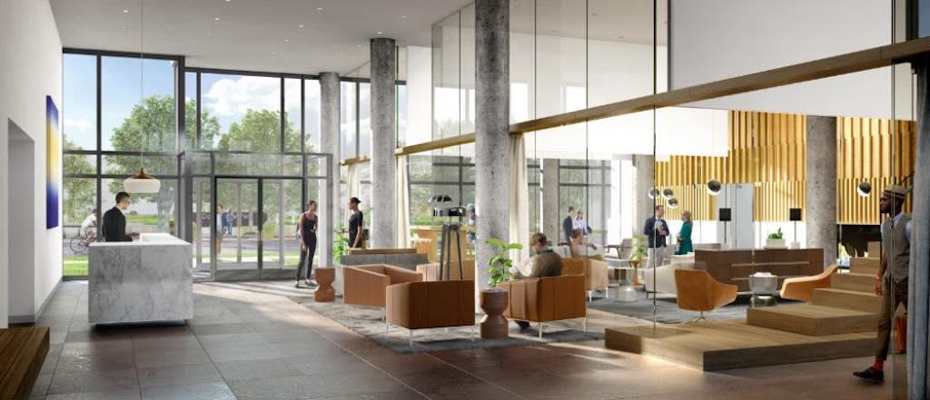 The Keeley Condos - Lobby - Sales Yossi Kaplan