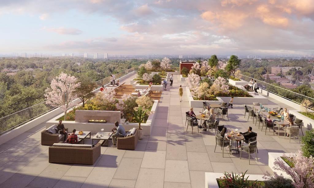 The Keeley Condos - Rooftop - Sales Yossi Kaplan