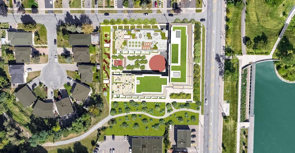 The Keeley Condos from the air - Sales Yossi Kaplan