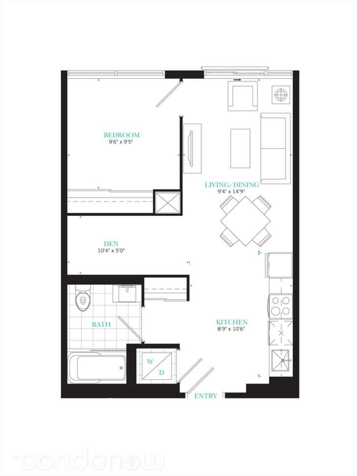 The PJ Condos Residence 02 floorplan