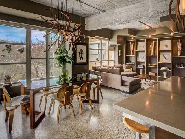 Toronto Condo Loft For Sale @ 833 King West - 1 Living - Yossi Kaplan