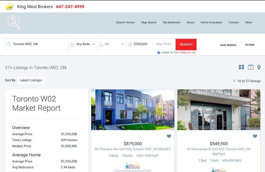 Toronto Junction Condos for Sale (W02) - Yossi Kaplan MBA