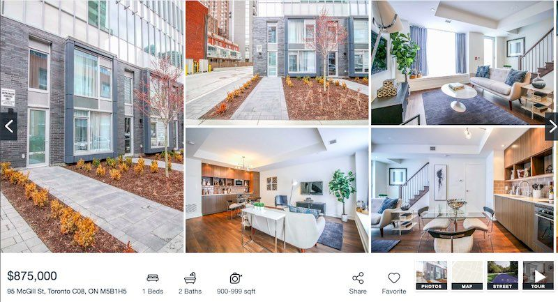 Toronto Townhome For Sale by Yossi Kaplan - 95 McGill St