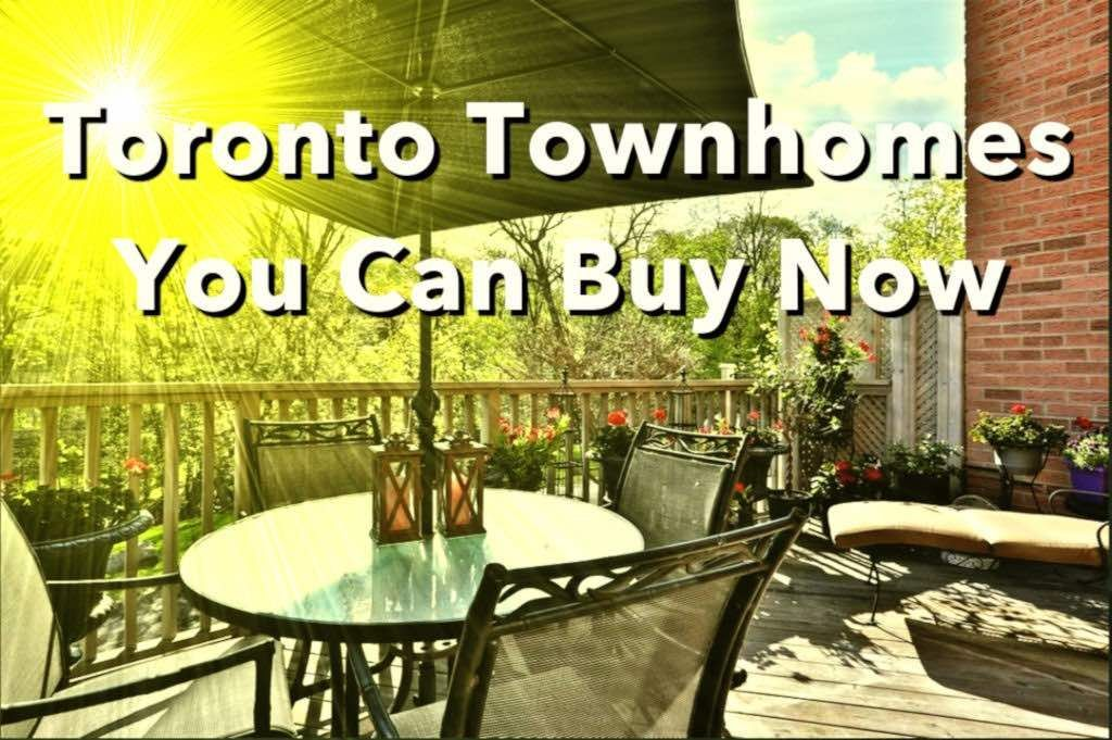 Toronto Townhomes For Sale by Yossi Kaplan
