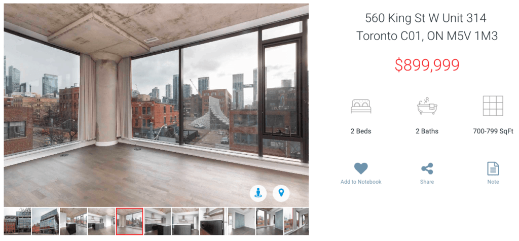 Two Bedroom Condo for sale at Fashion House Condos