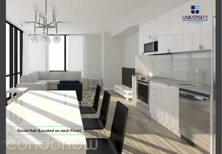 University Studios Oshawa 1800 North Simcoe - Kitchen - Contact Yossi Kaplan