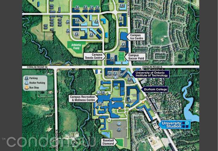 University Studios Oshawa 1800 North Simcoe - Site Map - Contact Yossi Kaplan