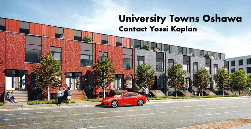 University Towns Oshawa - Condos for Sale - Contact Yossi Kaplan