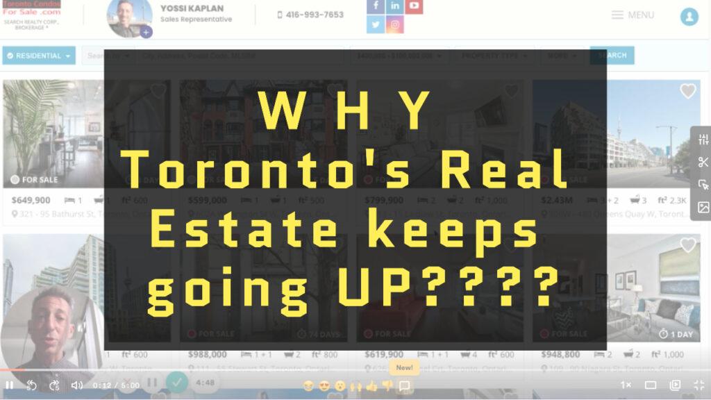WHY Toronto's Real Estate Keeps Going UP??? #TorontoRealEstate #TorontoCondos #276