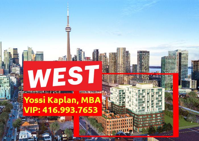 West Condos @ 89-109 Niagara St. - VIP Sales Yossi KAPLAN
