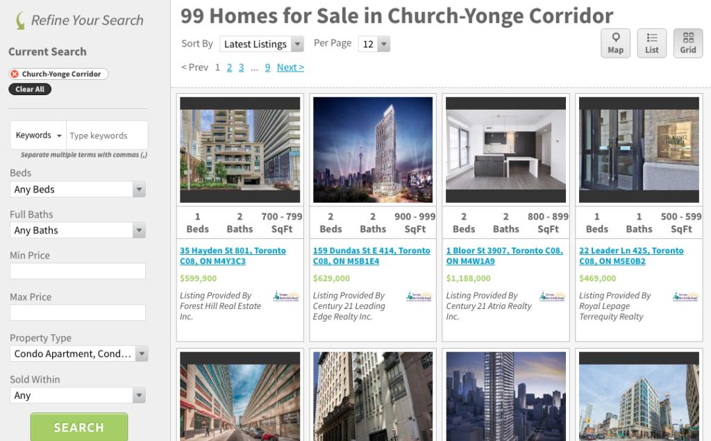 Yonge and Church Corridor Condos for Sale - Contact Yossi Kaplan