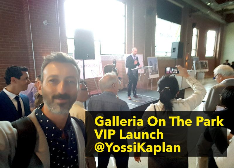 Yossi Kaplan @ Galleria On The Park Platinum Agent Event