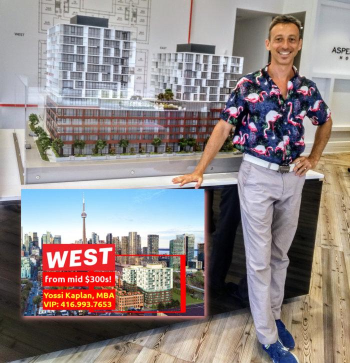 Yossi Kaplan @ West Condos VIP Sale