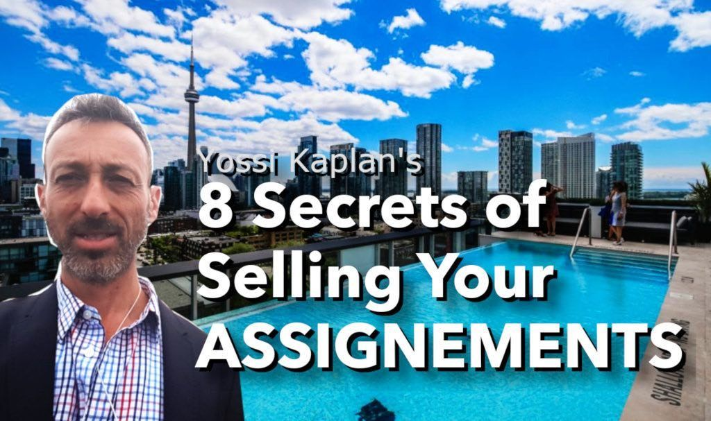 Yossi Kaplan's 8 Secrets of Selling Your Assignments