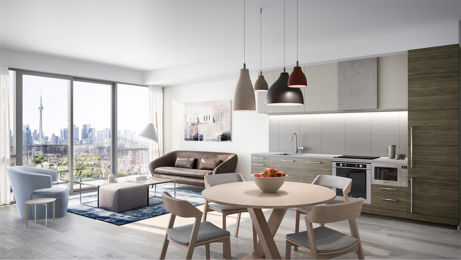 Zen King West Condos for Sale - Suite Interior