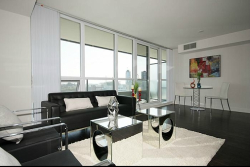 The Modern - One Bed - Living Room