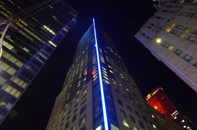 Trump Tower by Night